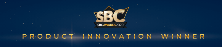 SBC Awards 2020 Product Innovation Winner